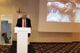Ο πρόεδρος των Παιδικών Χωριών SOS Κωνσταντίνος Συρίγος