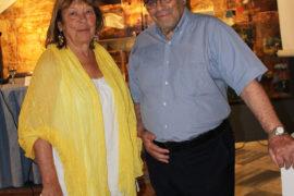 ο κ. Λ. Βαζαίος με τη βουλευτή κ. Ελένη Σταμάτη
