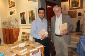 Ο Δήμαρχος κ. Γ. Κουκουδάκης με τον βουλευτή κ. Θ. Δρίτσα